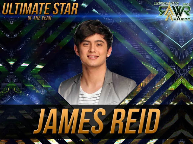 LION: James Reid bags Ultimate Star of the Year #RAWRAwards2016