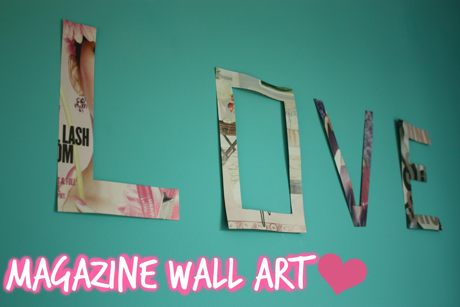 Magazine Wall Art. Friday May 20 2016 & iDesigns by Sophie: May 2016
