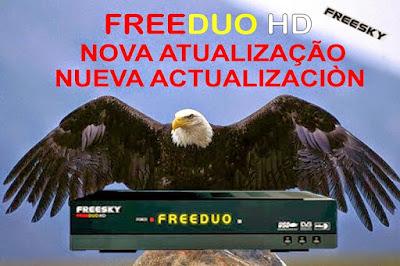 ATUALIZAÇÃO DA LINHA FREESKY Freeduo