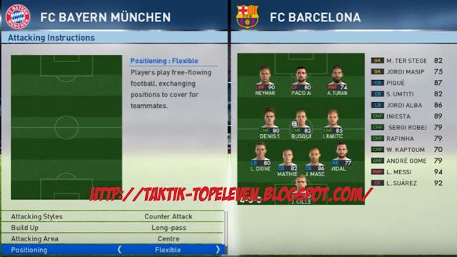 Tactics ( 4-3-3 ) Counter attack