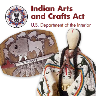 Indian Arts and Crafts Act brochure