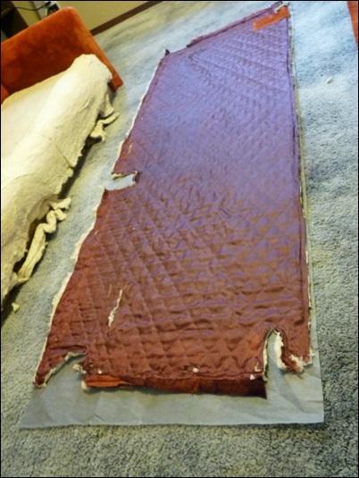 tecido para reforma do sofa