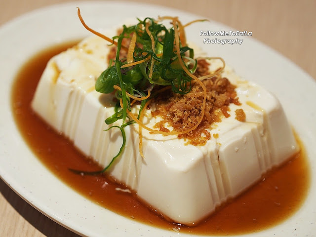 Tofu with Oyster Sauce