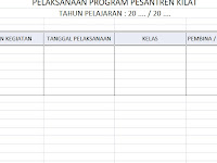 Download Format : Buku Pelaksanaan Program Pesantren Kilat