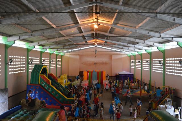 """PATROCINADOR: """"O Resgate da Liga da Justiça"""" foi tema da Festa do Dia das Crianças do Centro Educacional Frei Damião."""
