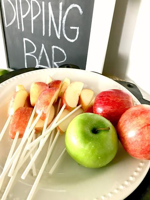 Apple Dipping Bar