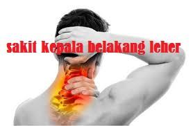 Sering Sakit Kepala Pada Bagian Belakang