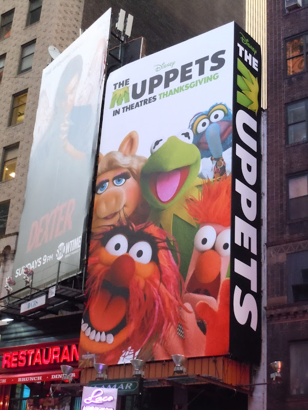 Disney Muppets billboard