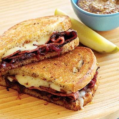 My Favorite Things Grilled Pastrami Swiss And Sweet
