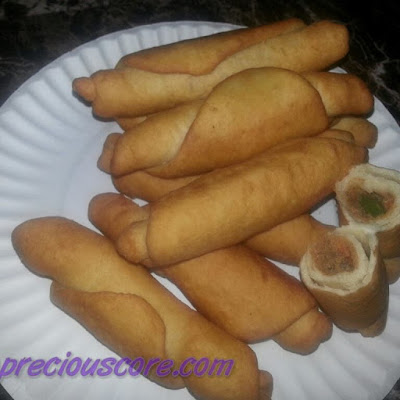 Flavourful Fish Rolls (Cameroonian Fish Rolls Recipe)