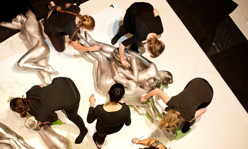 The Mercury Project by body artist Emma Hack