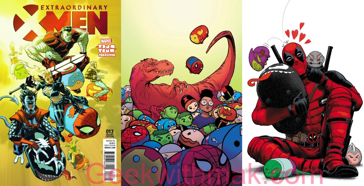 Marvel Tsum Tsum Takeover Week 4 ~ Geek With Mak