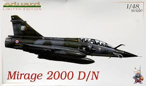 Eduard Mirage 2000 N 1/48.
