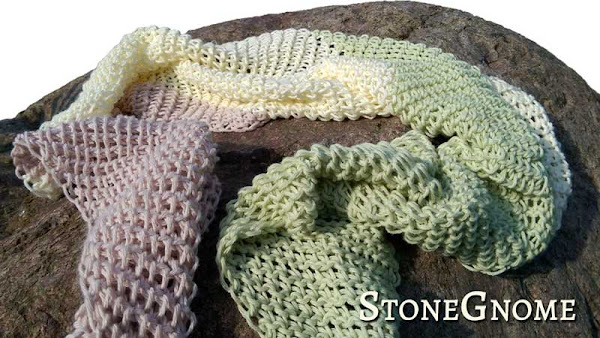 3 Skein Scarf at Stonegnome