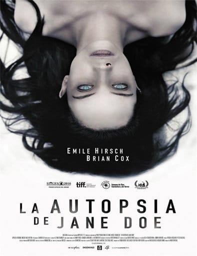 La autopsia de Jane Doe (2016) Castellano