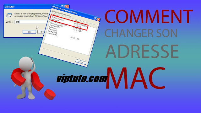Changer l'adresse mac d'une carte réseau