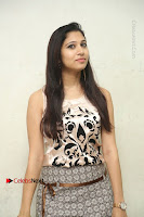 Actress Vanditha Stills in Short Dress at Kesava Movie Success Meet .COM 0076.JPG