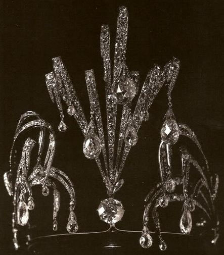 Grand Duchess Maria Pavlovna Vladimir Russia Waterfall Aigrette Cartier