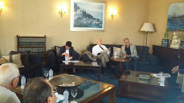 Συνάντηση με επαγγελματικούς και τουριστικούς φορείς είχε ο Υπουργός Οικονομίας και Ανάπτυξης στην Αργολίδα