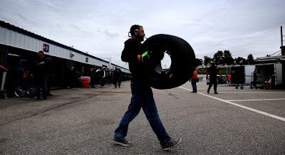 Tire strategy played a key role at NHMS. #NASCAR
