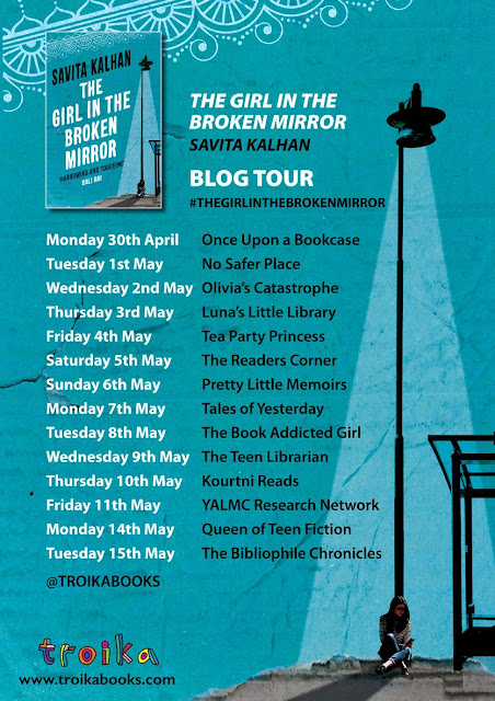 "Blog Tour & Guest Post: ""The Girl In The Broken Mirror"" by Savita Kalhan (No Spoilers)"