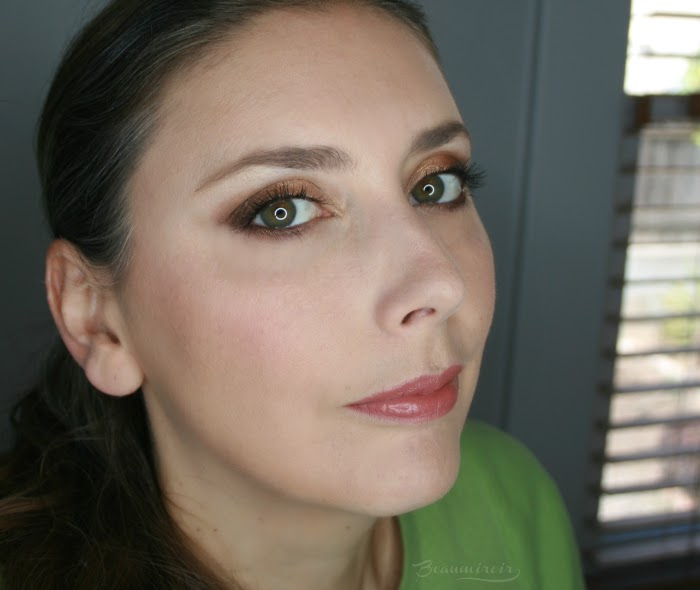 full face picture wearing too faced it just comes naturally collection