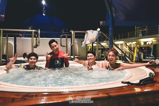 Star cruises Superstar Libra 丽星邮轮 天秤号 3D2N 槟城 普吉岛 Penang Phuket starcruises libra hot jacuzzi night