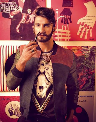 Ranveer Singh Photo Shoot for GQ Magazine -Looking Hot