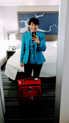 mirror selfie at the hotel before the interview at MIT oindree banerjee how to phd cover letter mit