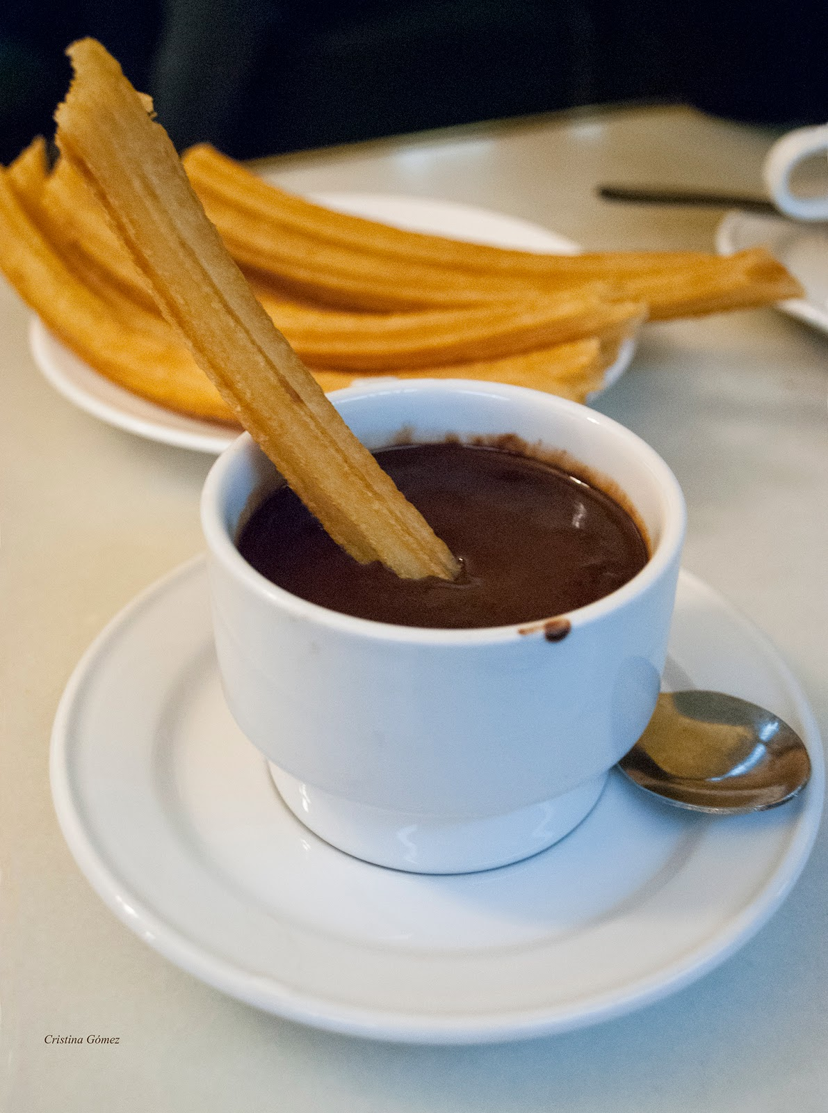 Chocolate con churros - San Gines - Madrid