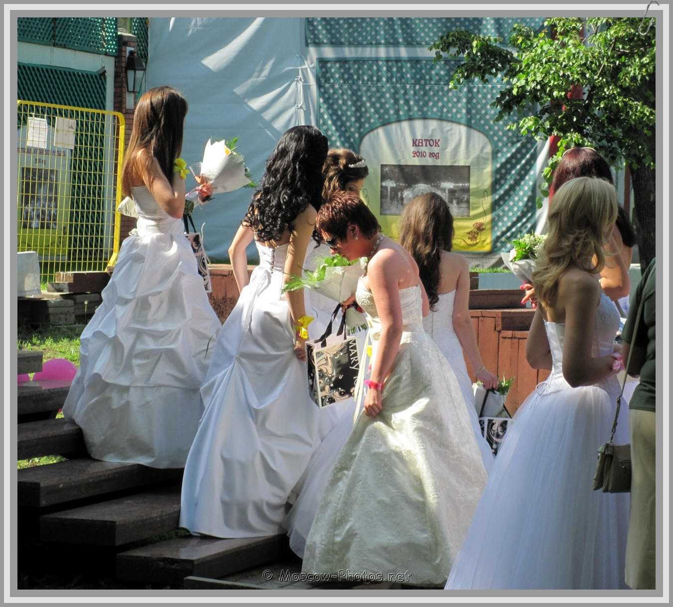 Moscow Runaway Brides at Summer Day
