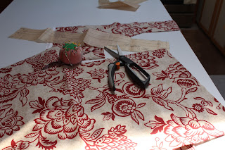Cutting Out An Apron, Living From Glory To Glory Blog...