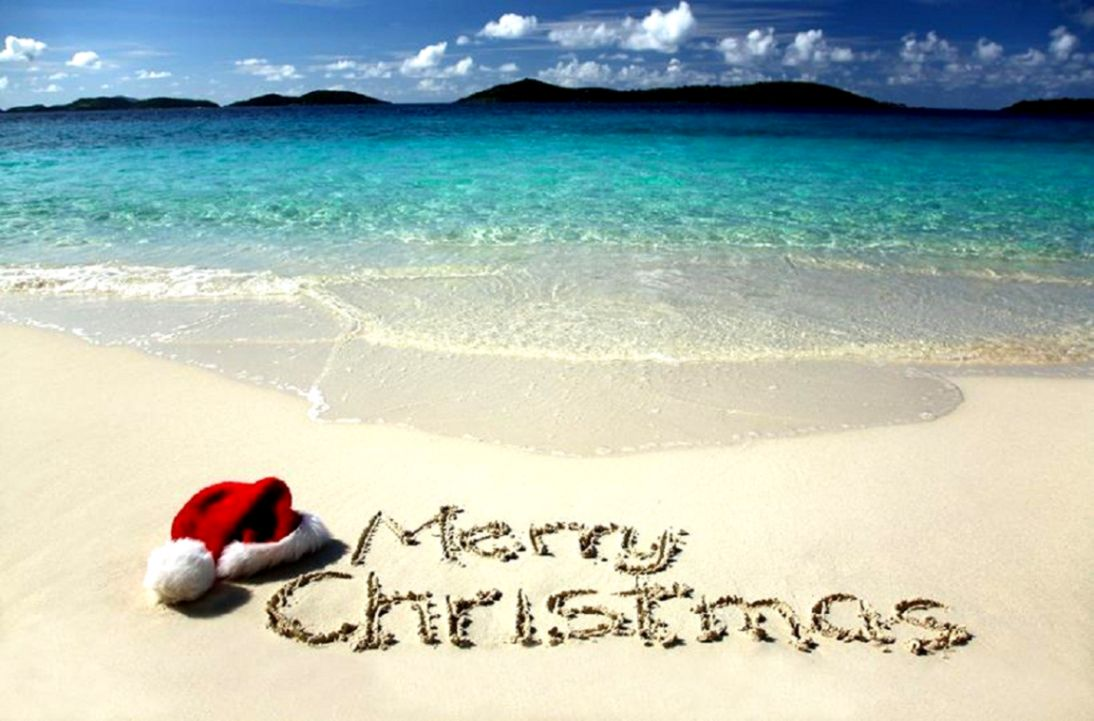Beach Christmas Wallpaper Free Desktop Wallpapers Every Day