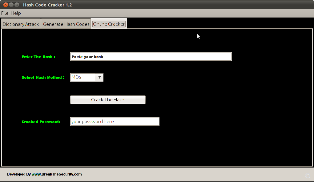 Hash Code Cracker V 1.2 Released ~ Password Cracking from ...