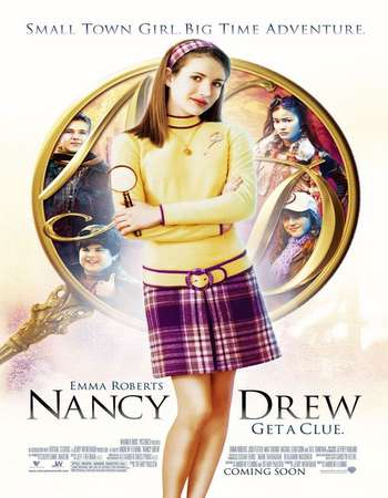 Poster Of Nancy Drew 2007 Dual Audio 120MB Web-DL HEVC Mobile Free Download Watch Online Worldfree4u