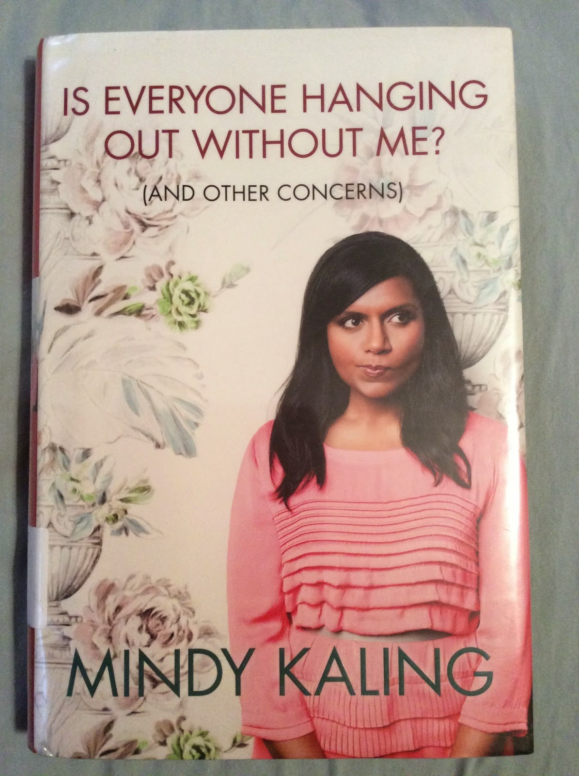 Spry On The Wall Book Review Is Everyone Hanging Out Without Me By Mindy Kaling