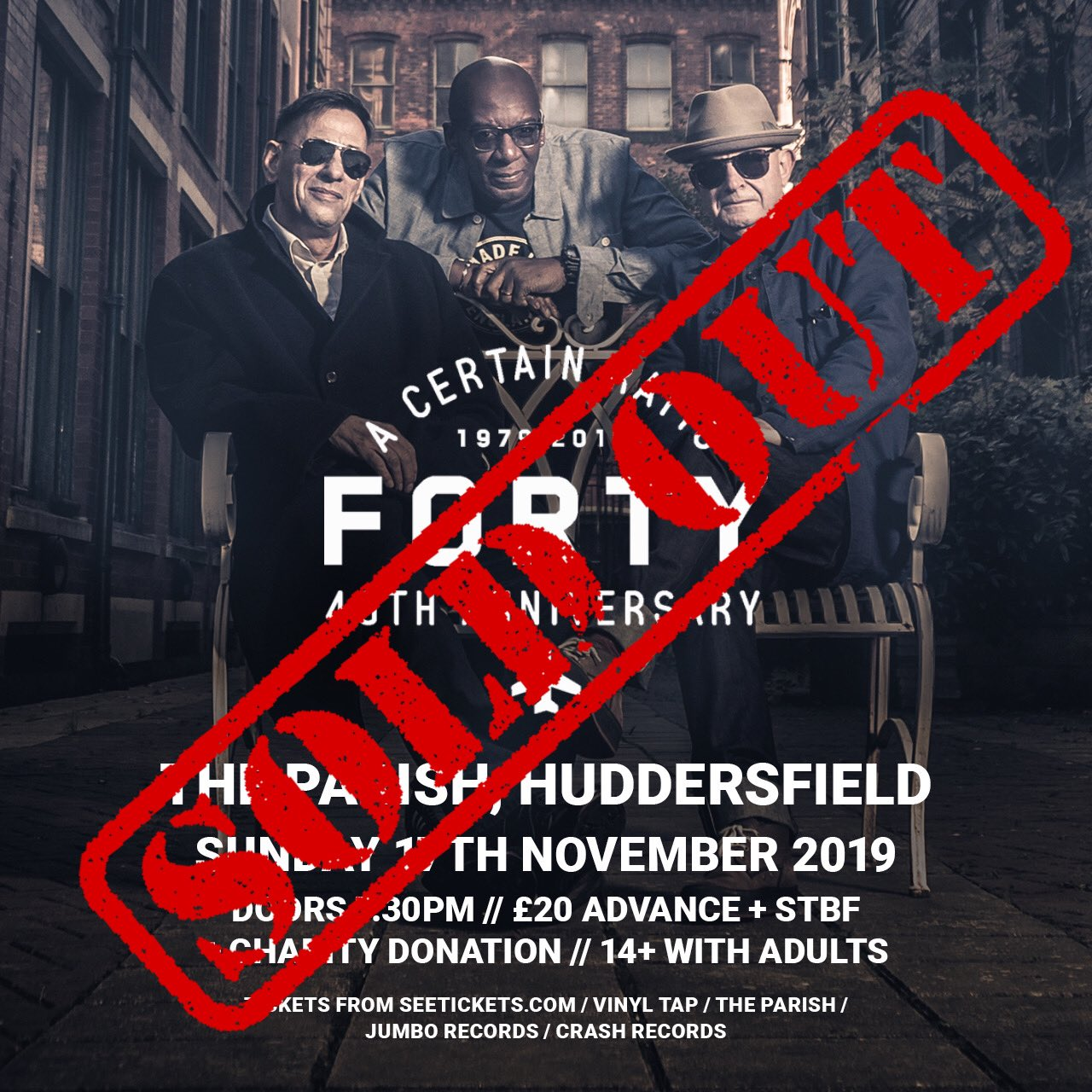 17 November 2019, The Parish, Huddersfield - ACR Gigography