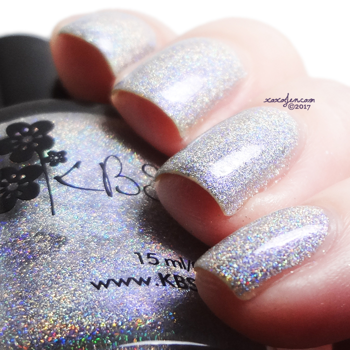 xoxoJen's swatch of KBShimmer Bean There, Done That