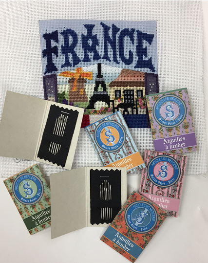 Free Embroidery Needles from Tres Chic Stitchery, as featured on Feeling Stitchy