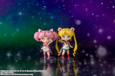 Figuras: Anunciados los Figuarts Mini de Super Sailor Moon y Super Sailor Chibi Moon: Eternal Edition - Tamashii Nations