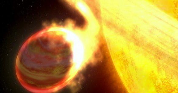 Ketika Bintang Memakan Planetnya Sendiri