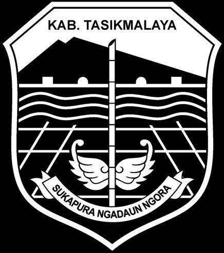 Logo Kabupaten Tasikmalaya Hitam Putih Png Galeriku