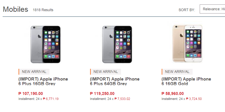 iphone 6 philippine price iphone 6 philippines 3542
