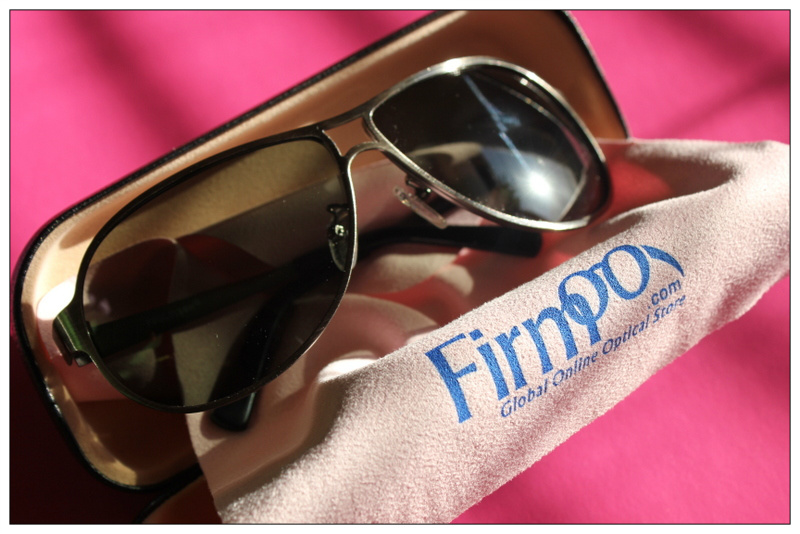 Review: Firmoo.com - Men's full frame mixed material sunglasses