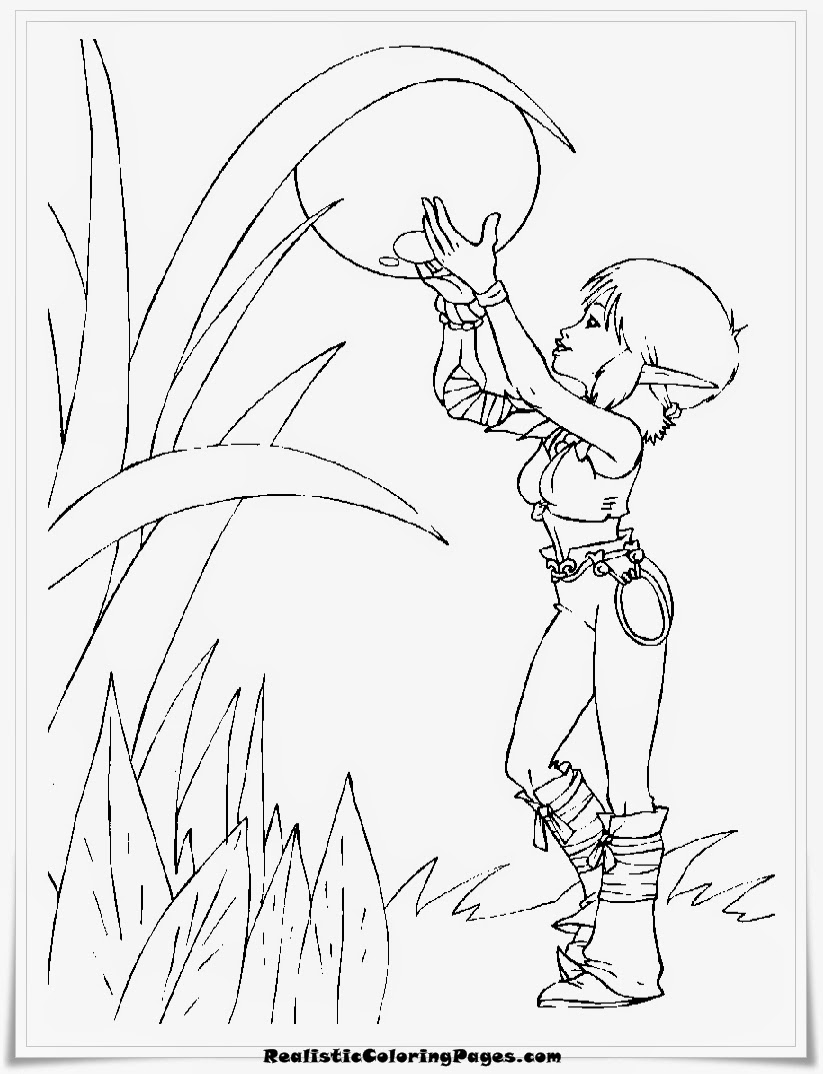 Princess Selenia Arthur and the minimoys coloring pages