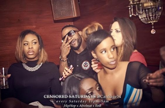 Iyanya Gets Surprise Birthday Party From Friends In London | Photos
