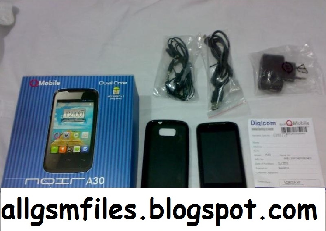 QMOBILE A30 USB DRIVER DOWNLOAD FREE