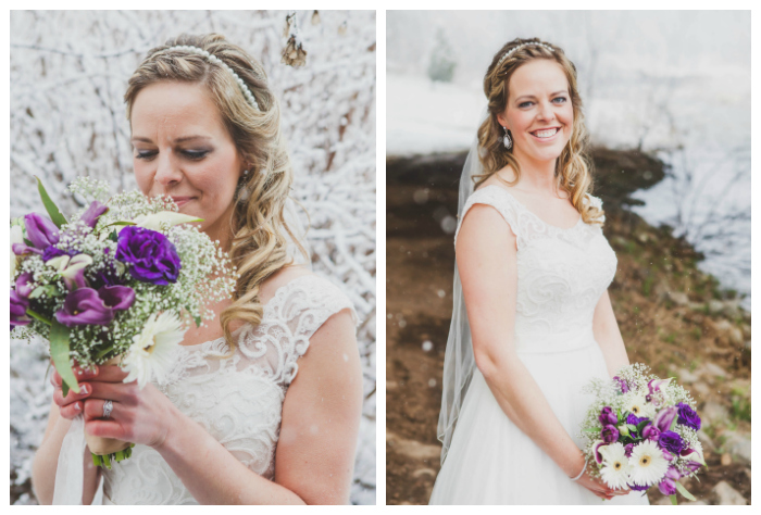 bridal curls and braid and headpiece photography: Kate Pennings hair: Taming Rapunzel