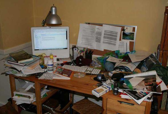 ¡No eres desordenado, eres brillante! La ciencia dice que las personas desorganizadas son más creativas