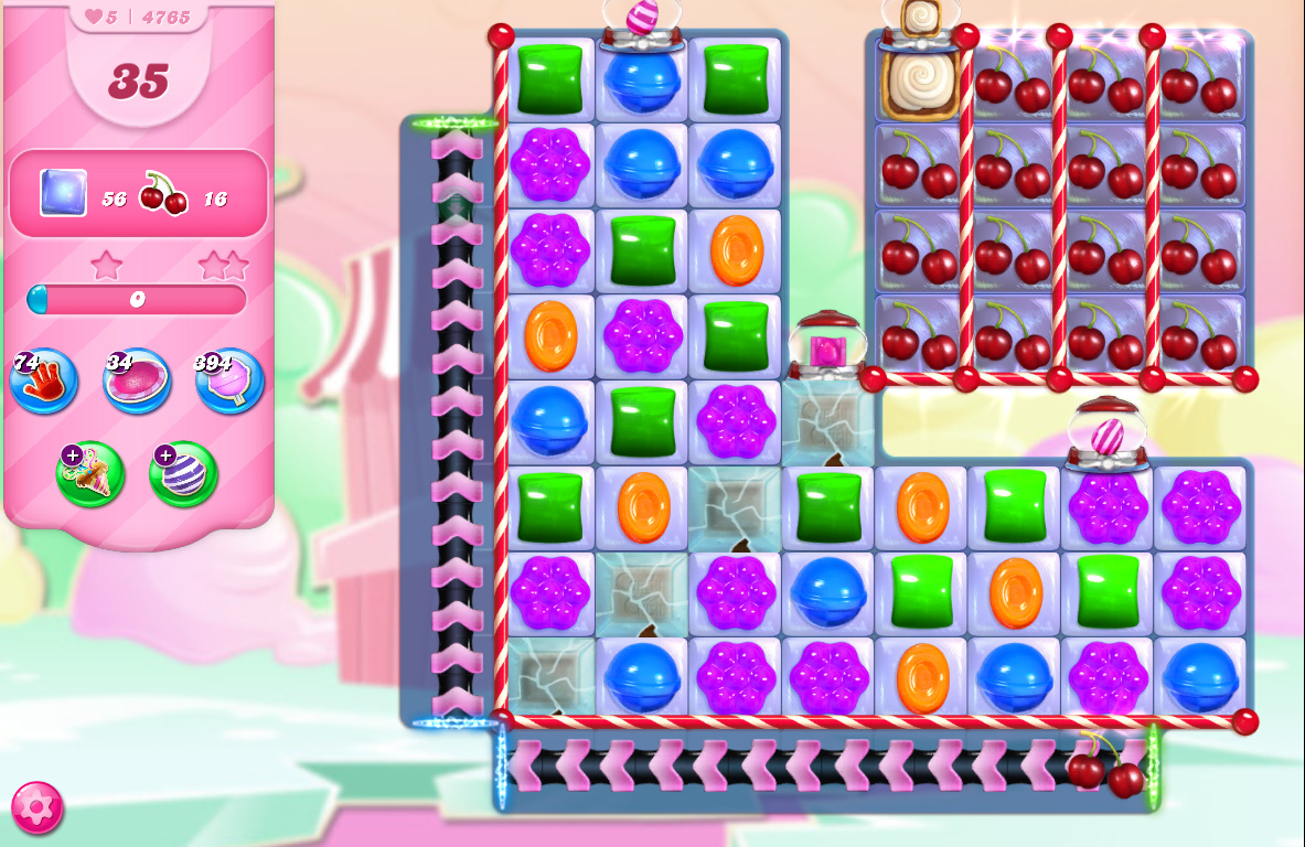 Candy Crush Saga level 4765